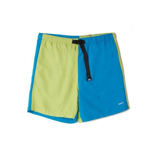 EASY RELAXED RECESS SHORT LIME MULTI