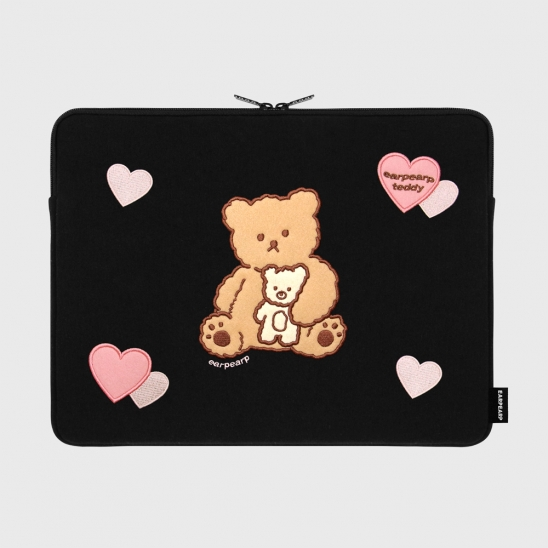 I love it nini-black-15inch notebook pouch(15인치노트북 파우치)