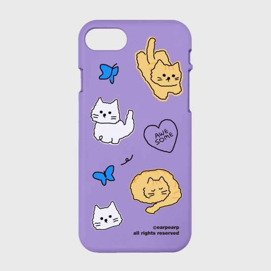 Awesome cat-purple(color jelly)