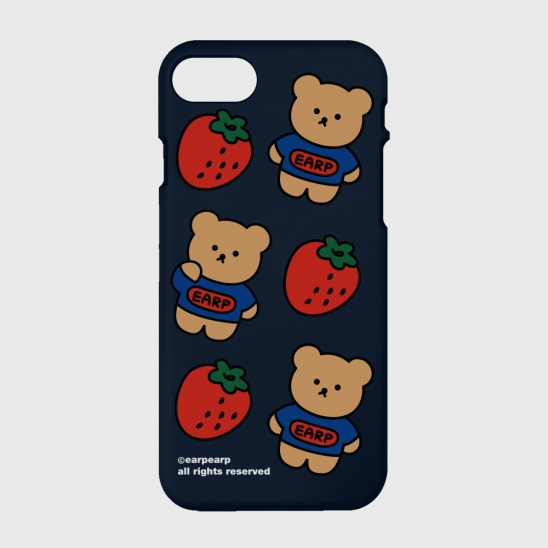strawberry bear-navy(color jelly)