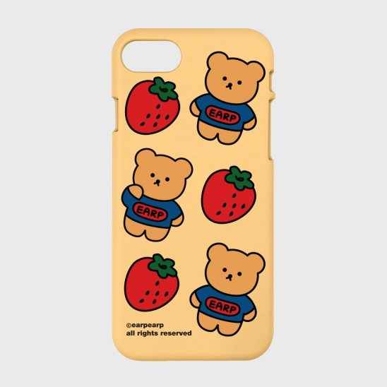 strawberry bear-yellow(color jelly)