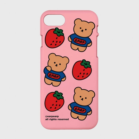 strawberry bear-pink(color jelly)