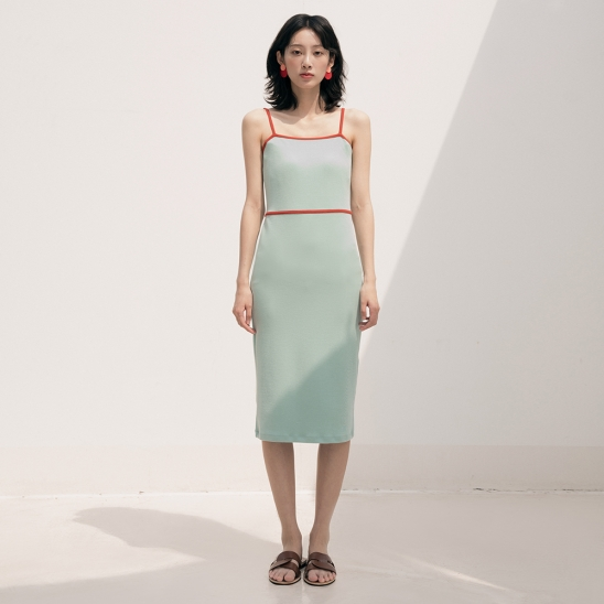 DUL SLEEVELESS LONG OPS MINT