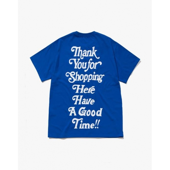 THANK YOU FOR SHOPPING S/S TEE-COBALT BLUE