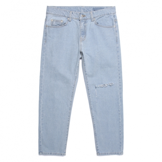CB TEAR DENIM PANTS (DENIM)
