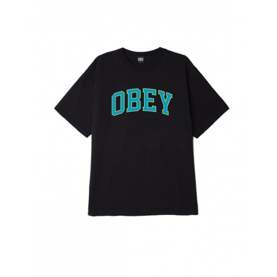 OBEY ACADEMIC 3 OFF BLACK