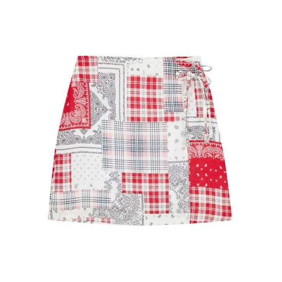 PATCHWORK SK RED