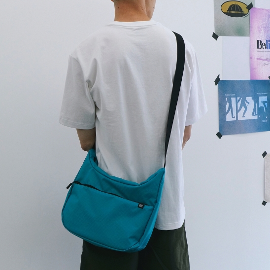 STIN CROSS BAG - BLUE/GREEN