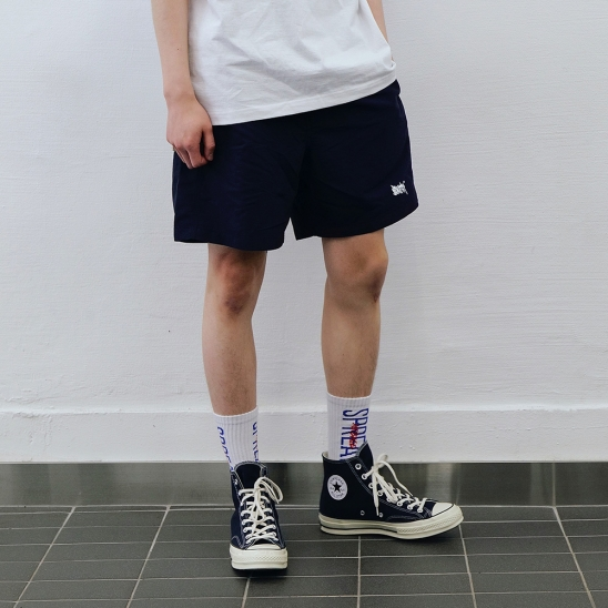 TAG SHORT PANTS - NAVY
