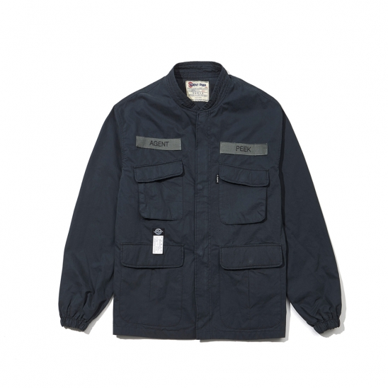 20SS POCKET JUMPER [CHARCOAL]