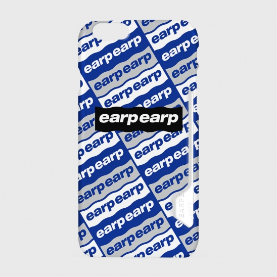 Earpearp diagonal logo-blue(카드수납케이스)