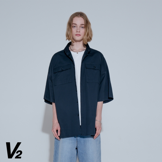 SUNRISE SHIRT JACKET_NAVY