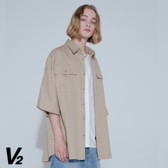 SUNRISE SHIRT JACKET_BEIGE