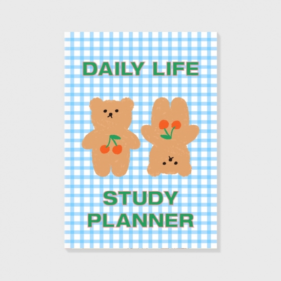 Cherry big bear(study planner)