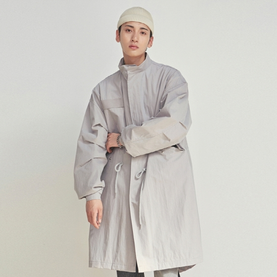 [COUCOU] M-51 OVER FISHTAIL COAT_LIGHT GRAY