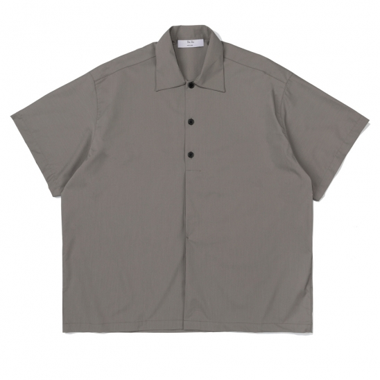 CB HALF HIDE BIG SHIRT (KHAKI)