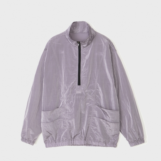 METALIC POCKET ANORAK [PURPLE]