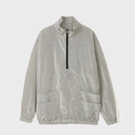 METALIC POCKET ANORAK [GRAY]