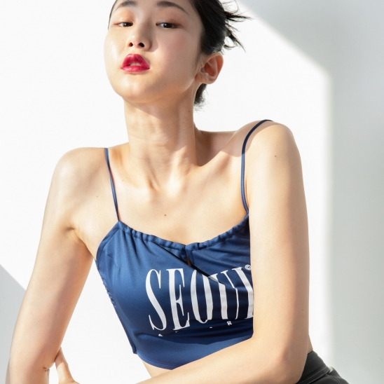 BACKLESS TOP (NAVY)