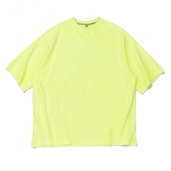 CB ACON PIGMENT OVERFIT TEE (LIME)
