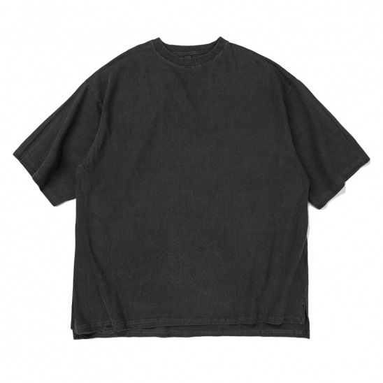 CB ACON PIGMENT OVERFIT TEE (CHARCOAL)
