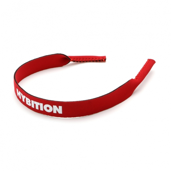 Neoprene Eyewear Strap Red