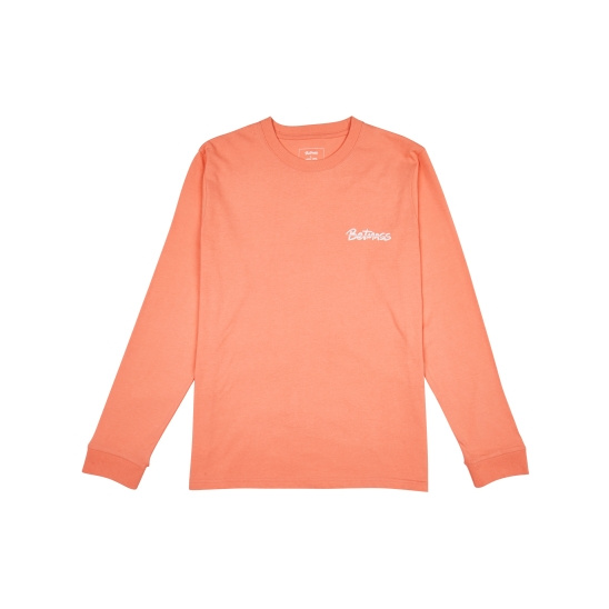 BASIC L/S TEE (CORAL)