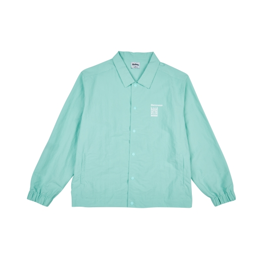 K-MON COACH JACKET (MINT)