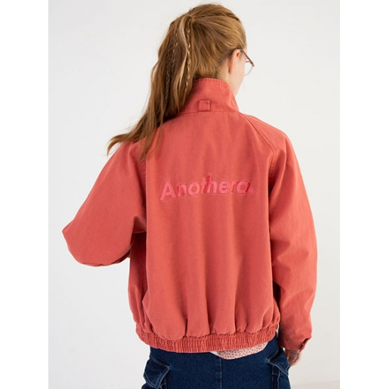 [어나더에이] Canvas Raglan Jacket [Pink]