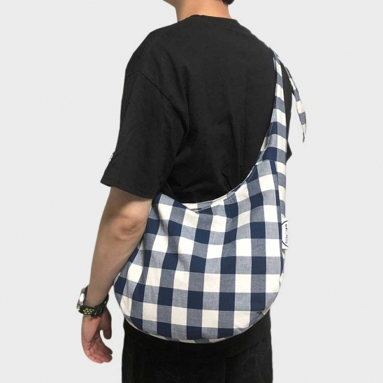 slouch bag (navy)
