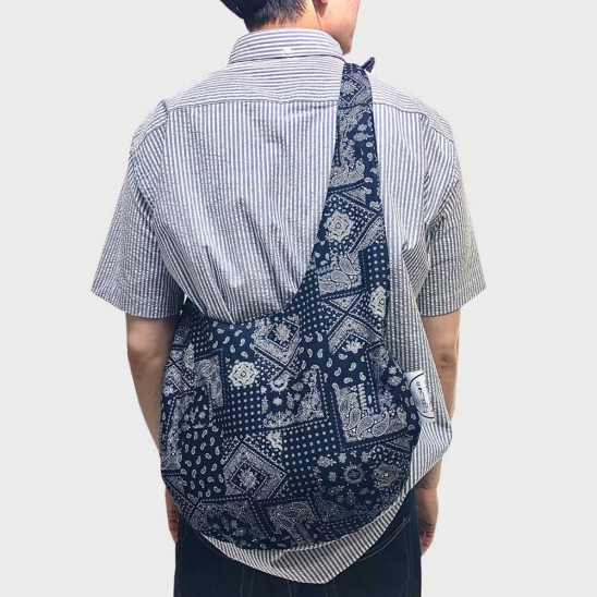paisley slouch bag