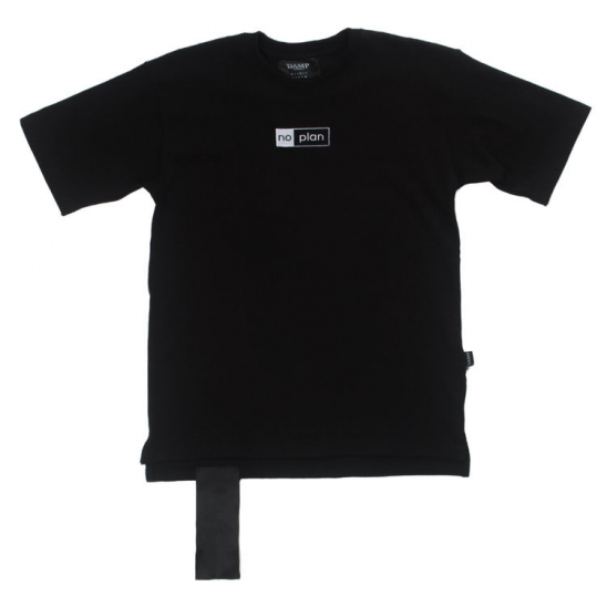 PREMIUM NO PLAN BOX LOGO TEE_BLACK