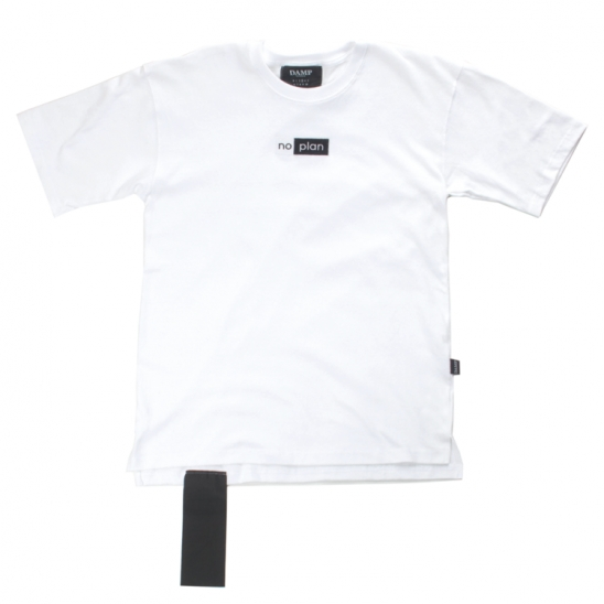 PREMIUM NO PLAN BOX LOGO TEE_WHITE