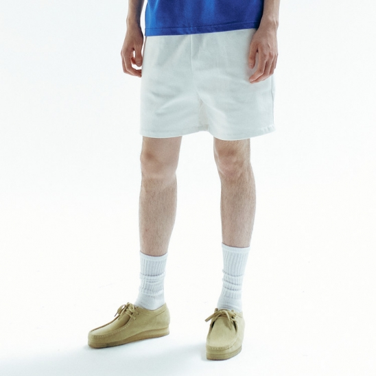 CROWE SHORTS WHITE