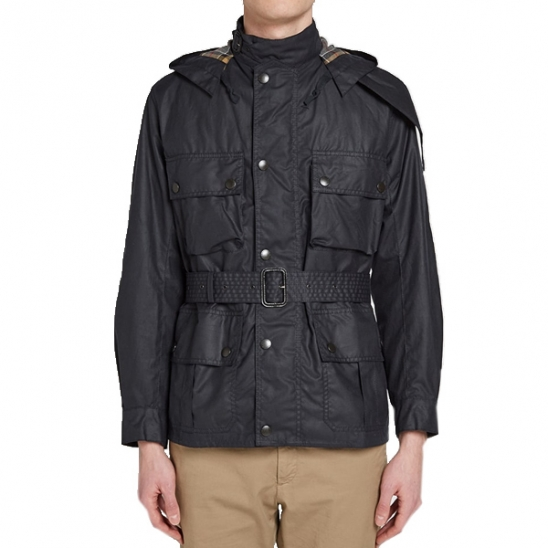 BARBOUR 바버 우르슬라 왁스 자켓 NAVY MWX1356NY92