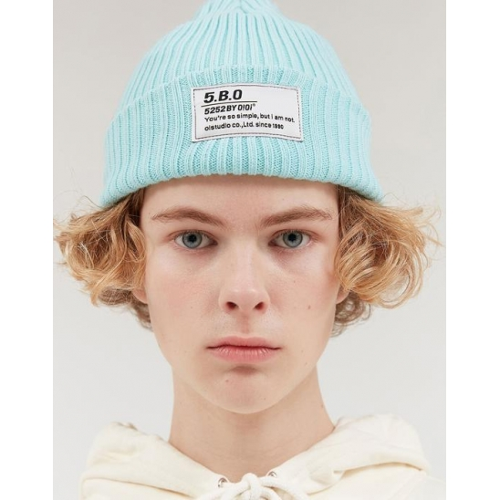 TAG LABEL BEANIE_MINT