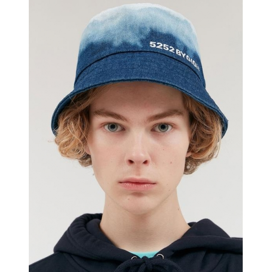 STRING BUCKET HAT_BLUE