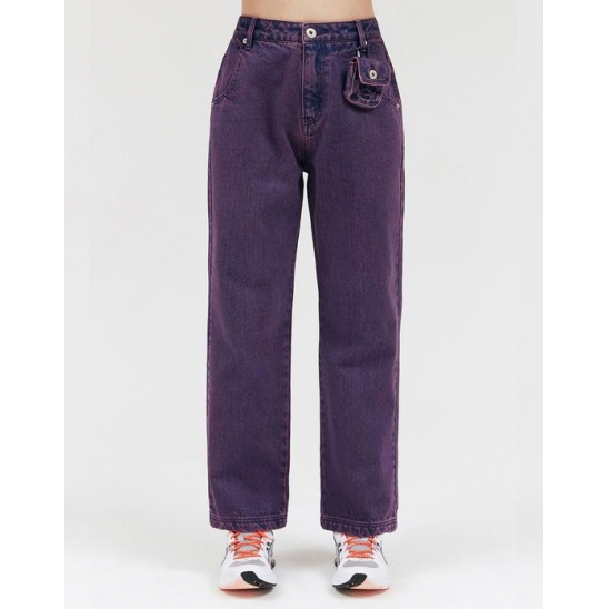 DYEING COLOR JEANS_PURPLE