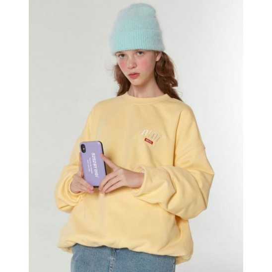 SIDE LOGO JUMPER_LEMON