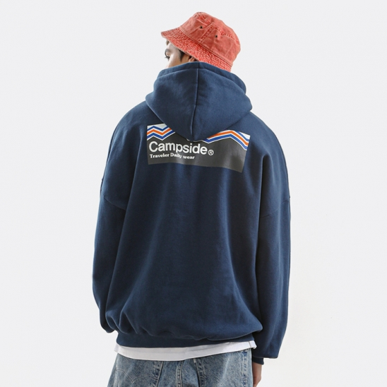 MOUNTAIN WAVE SIGNATURE OVERFIT HOODIE CHT201 / 3color