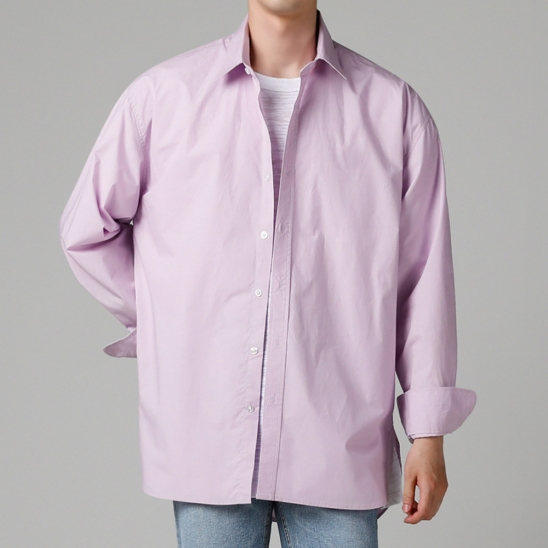 HIGH DENSITY SHIRT LAVENDER