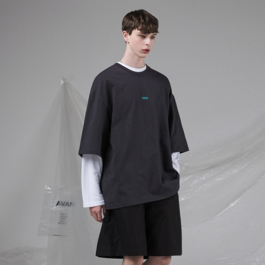 PARTY T-SHIRT CHARCOAL