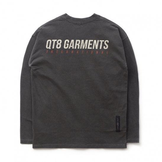 ND I.T Pigment L Sleeve (Black)