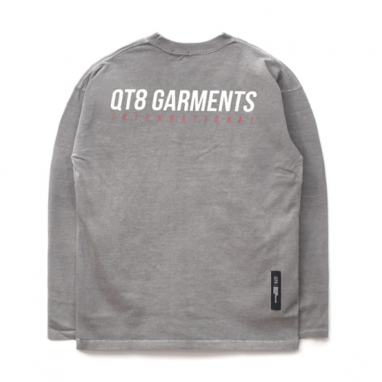 ND I.T Pigment L Sleeve (Grey)