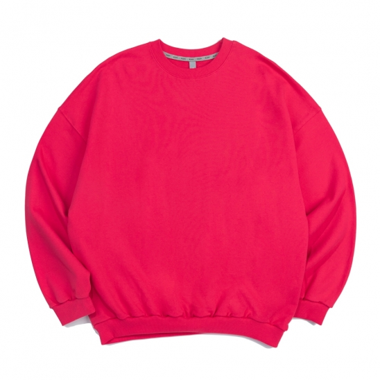 CB ACON OVER FIT CREWNECK (PINK)