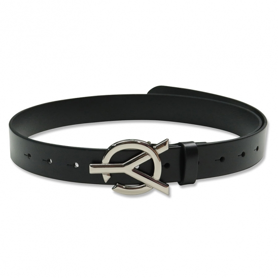 LOGO LEATHER BELT2