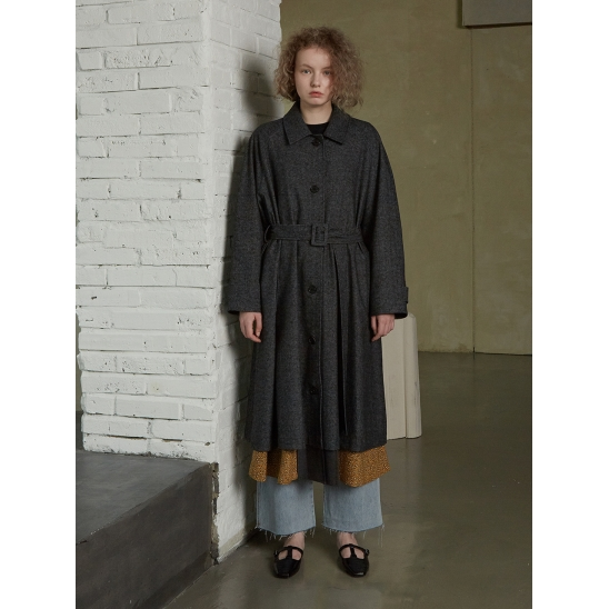 WOOL TRENCH COAT_CHARCOAL
