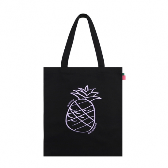 BIG LOGO ECO BAG_BLACK