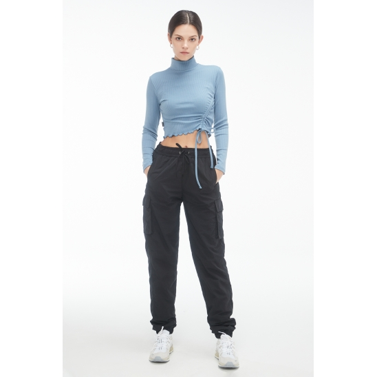 #ZPA3 Cushy jogger pants [BLACK]