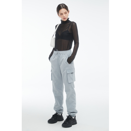 #ZPA3 Cushy jogger pants [L.GREY]